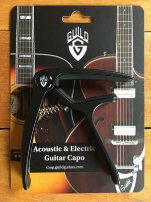 Guild-Acoustic-_-Electric-Guitar-Capo